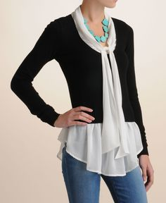 Central Park West Blouse And Sweater Top - South Moon Under - $118