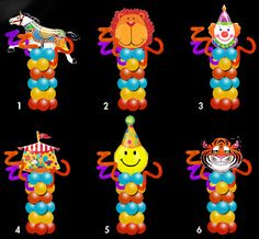 72 Best Balloon Circus Carnival Images