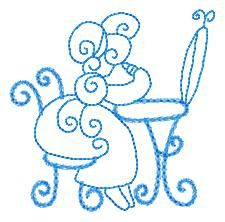 OhLaLaSunbonnets - Free Instant Machine Embroidery Designs