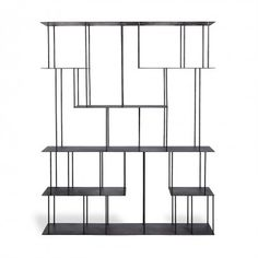 abcDNA Helix Steel Wide Étagère Black | This could be neat! I saw it in person at ABC the other day.