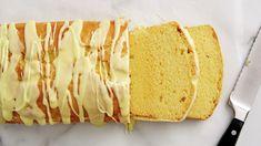 Lemon Pound Cake Recipe 1 box Betty Crocker™ Super Moist™ yellow cake mix 1 package oz) cream cheese, softened 1 cup water or milk 1 tablespoon grated lemon peel 3 eggs cup Betty Crocker™ Rich & Creamy lemon frosting Lemon Desserts, Lemon Recipes, Just Desserts, Delicious Desserts, Awesome Desserts, Easy Recipes, Pound Cake Recipes, Cake Mix Recipes, Bread Recipes