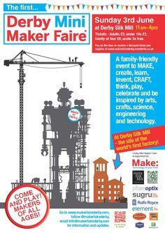 mini maker faire poster - Google Search