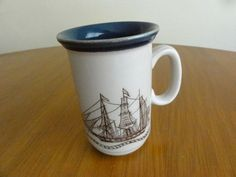 Coffee Mug Churchill the Barque Jane Blair made in England