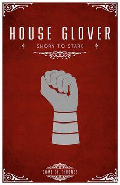 Game of Thrones house sigils by Tom Gateley. http://www.flickr.com/photos/liquidsouldesign/sets/72157627410677518/