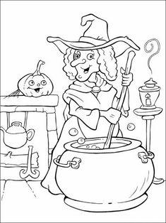 Halloween Målarbilder för barn 29