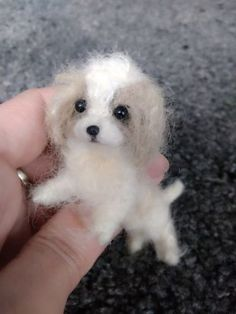 OOAK-Needle-Felted-Miniature-Cocker-spaniel-puppy-dog
