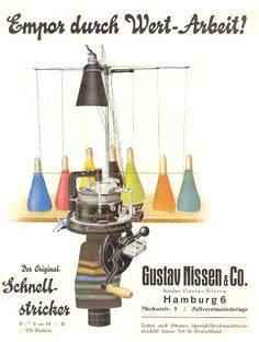 German Sock Machine via Museum Sock Knitting Machine Information, Sales, Patterns and Museum