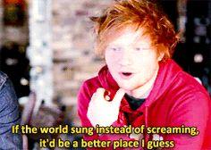 [gif] deep thoughts from Edward Sheeran Ed Sheeran Lyrics, Best Titles, Black Parade, Funky Art, Music Life, Lego House, Indie Music, Fan Girl, Favorite Person