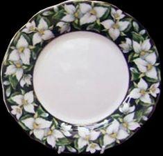 Royal Albert Provincial Flowers  Trilium - Ontario