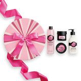 Give them a head-to-toe glow with this petal-packed gift. Beautifully packaged in the punchy pink that ruled this bloomin' wild gift is filled with the freshest picks from our British Rose bath and body range and new expert facials collection The Body Shop, British Rose, Rose Bath, Diy Presents, Beauty Box, Lip Balm, Bath And Body, Giveaway, Perfume Bottles