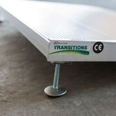 We offer Transitions® Angled Entry Ramp by EZ Access for the home. Come by today in Franklin or Hermitage TN Powered Wheelchair, Portable Ramps, Ramp Design, Wheelchair Accessories, Adjustable Legs, Angles, Psp, Nashville