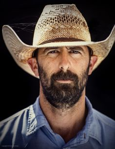 #Portrait of Waggoner Ranch cowboy Josh Stacy   Photography by Jeremy Enlow