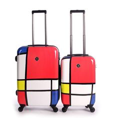 World Traveler Rio 2-piece Hardside Weekender Luggage Set | Overstock.com Shopping - The Best Deals on Two-piece Sets
