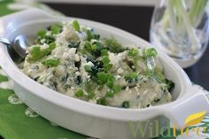 Wildtree's Spinach and Feta Mashed CauliflowerRecipe