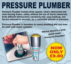 Our Pressure Plumber (Seen in the Sunday Mirror) is one of our best sellers, Get yours today! www.directa.co.uk