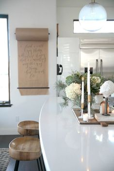 Modern + Cozy Christmas Kitchen | Seasons of Home Holiday Decor Series | Jeanne Oliver
