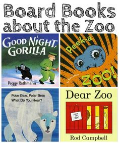Board Books about the Zoo