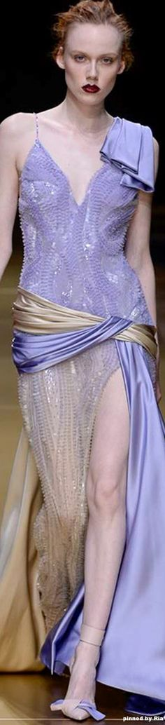 Atelier Versace FW 2016-17 Couture l Ria