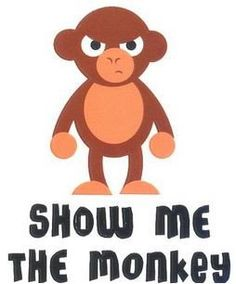 Show me the Monkey Sticker