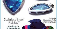 1000 necklaces in 1 PICKBAY Guitar PICK Holder Pendant Set #Best Gift | eBay #music