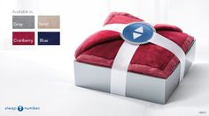 The plush #SleepNumber Cozy Throw provides snuggly softness and cozy warmth that's simply a pleasure to touch. It's an ideal gift for anyone on your list. Comes in four great holiday colors, too!