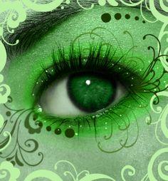 Alien Green by Marjolijn-Ashara.deviantart.com on @deviantART