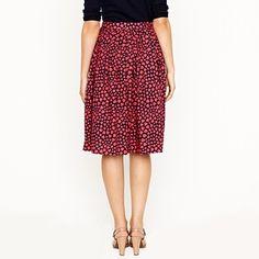 heart skirt from j crew $128