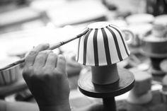At HB Werkstätten für Keramik in Marwitz, Germany, they create true unique ceramics by hand -https://www.meisterstrasse.com/keramiker-hedwig-bollhagen- #meisterstrasse #mastersguild #marwitz #deutschland #duitsland #keramik #tischkultur #interieur #interi