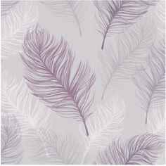 The Combination Of All These Beautifully Drawn Oversized Feathers Creates A Very Contemporary Wallpaper Design That Will Suit Any Room Home