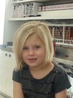 nice Little girl bob haircut...