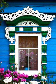 Traditional window, Russia