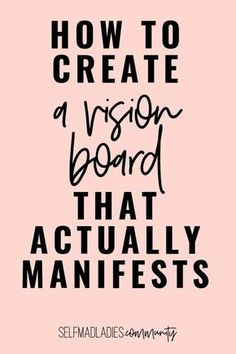 Manifestation Law Of Attraction, Law Of Attraction Quotes, Creating A Vision Board, How To Manifest, Life Coaching, The Life, Positive Affirmations, Self Improvement, The Secret