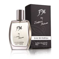 FM by Federico Mahora for Men 50 ml Eau de Parfum is a modern, lively fragrance of bergamot, ginger, lavender and ivy (NO. FM by Federico Mahora for Men 50 Fm Cosmetics, Cosmetics & Perfume, Dolce & Gabbana, Armani Aqua, Christian Dior, Composition, Azzaro, Nagel Gel, Eau De Toilette