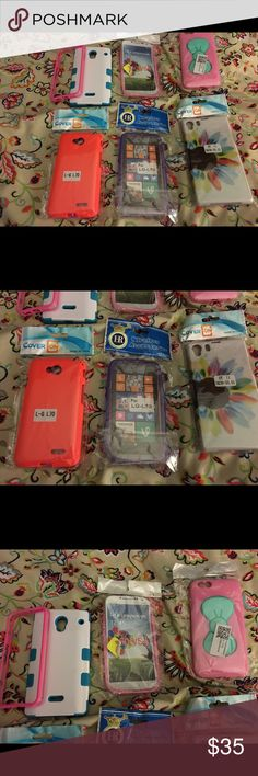 All brand new phone cases there are 7 of them All differmt kinds all are new and very nice Nike Accessories Phone Cases