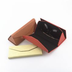 Cute PU Leather Eyewear sunglasses Box Bag lunette de soleil sunglass case hard Eye Glass Eyeglass box for glasses Brand