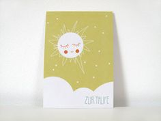 P004 ZUR TAUFE Postkarte im Din A6 Format gedruckt auf hochwertigem Recyclingpapier.  1,50 € inkl. MwSt., zzgl. Versandkosten