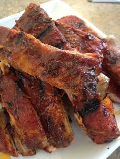 Sweet & Spicy Dry Rubbed Pork Ribs