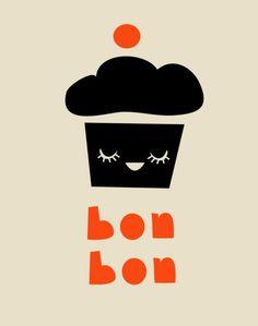 bon bon french inspired illustraion
