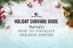 The holidays are always an interesting time of year. While the time with loved ones and reminder to be thankful and give more than we receive is a common theme, there's also a good amount of stress and social gatherings to attend which can start to derail our hard work. Thankfully, this doesn't have to