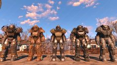 Fallout 4 Power Armors locations