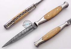 "8.50"" Custom made Beautiful Damascus letter opener dagger Knife (FSL-082-46 #KnifeArtist"
