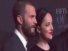 Premiere Fifty Shades Darker  Dakota Johnson and Jamie Dornan  Damie/Dakie