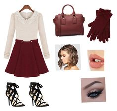 """""""Autumn"""" by c3a3n3d3y3 on Polyvore featuring Nine West, Burberry, M&Co and Charlotte Tilbury"""