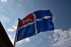 Saint Malo flag, old corsair city in historic place in the world with forticitation. Saints, Brittany France, Flag, Stock Photos, Architecture, City, Places, Revolution, Traveling