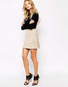 Another suede skirt to add to my collection? Oh I think so!