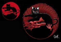 "Logo ""vivo"" de Gato negro – Dragón rojo | amaral-online.net"