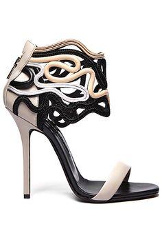 Adorned shoe adoration.