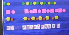 How to teach patterns - Kindergarten  I definitely need to make more use of my…