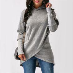 Womens-Long-Sleeve-Asymmetric-Hoodie-Sweatshirt-Hooded-Pullover-Tops-Jumper-Coat