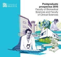 University of Bristol Postgraduate Prospectus Faculty Cover Graphic Design Layouts, Brochure Design, Book Design, Cover Design, Fundraising Letter, Bristol University, Technology Magazines, Design Campaign, Annual Report Design